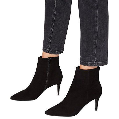 Buy Dune Osha Pointed Toe Ankle Boots Online at johnlewis.com
