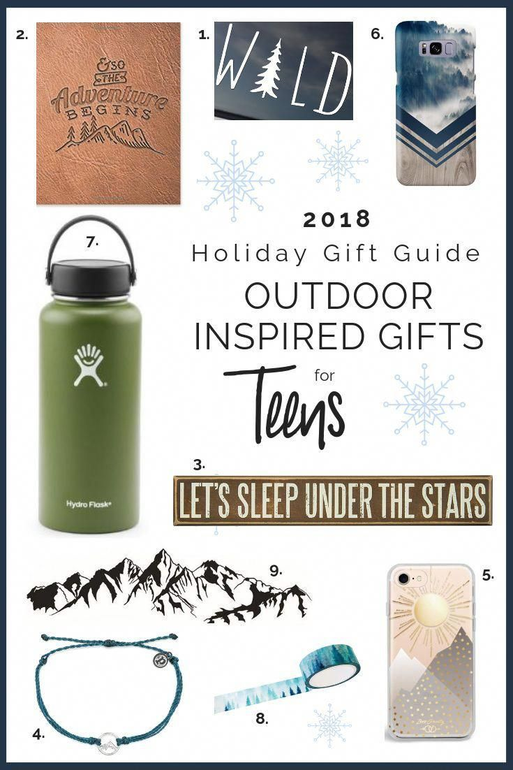 Gift ideas for teens who love the outdoors giftguide