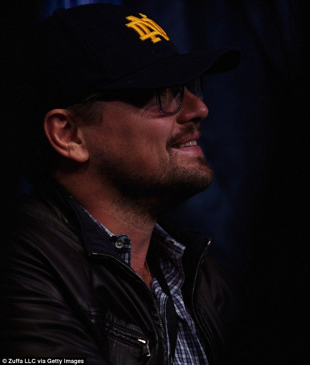 022fb50f9db Bespectacled Leonardo DiCaprio leads star attendees at women s UFC fight