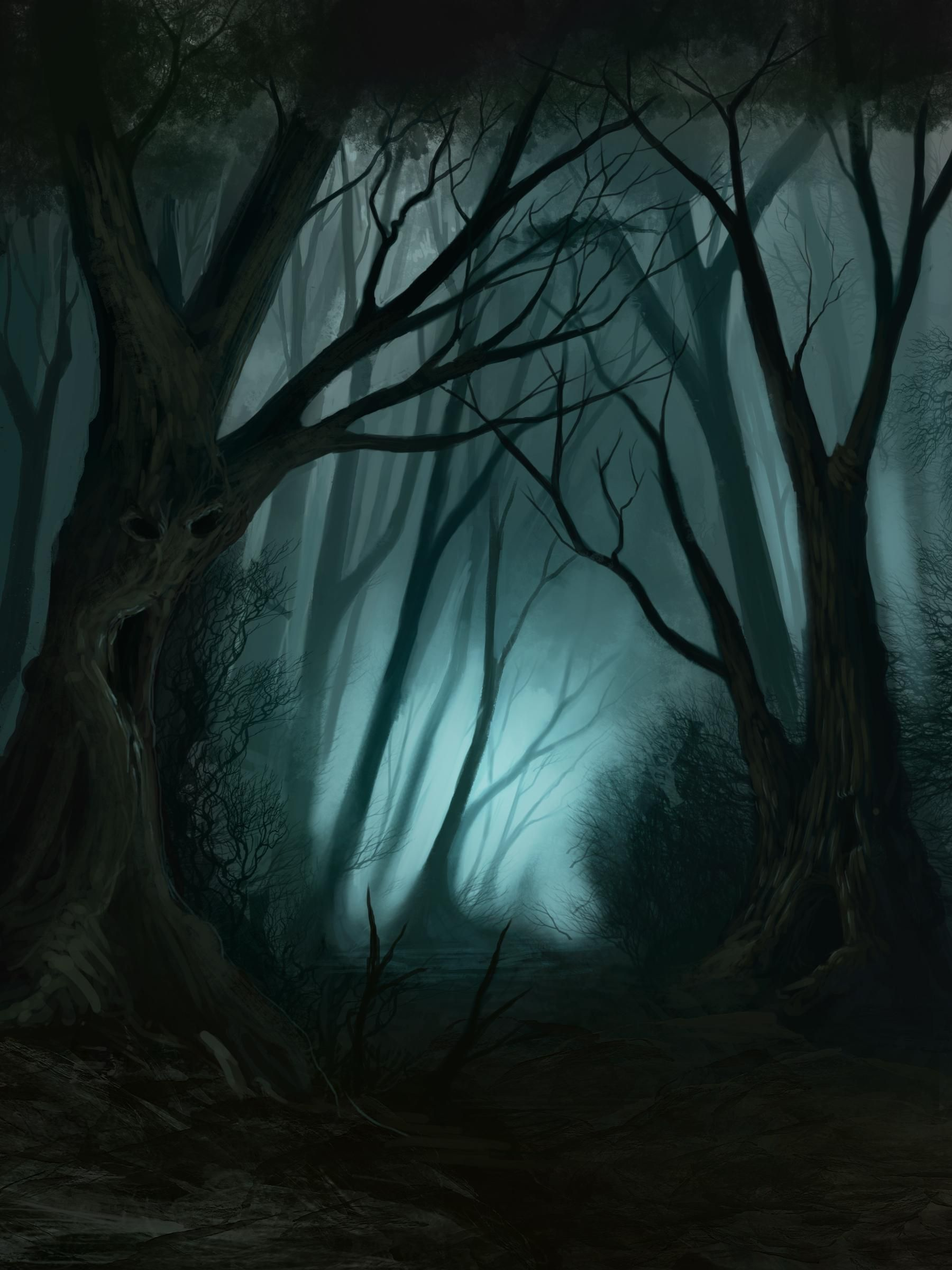 Pin by Harilal Haridasan on Creepy Forest in 2019 | Forest