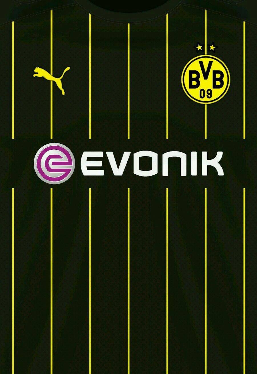 Borussia Dortmund Wallpaper Camisas De Futebol Uniformes
