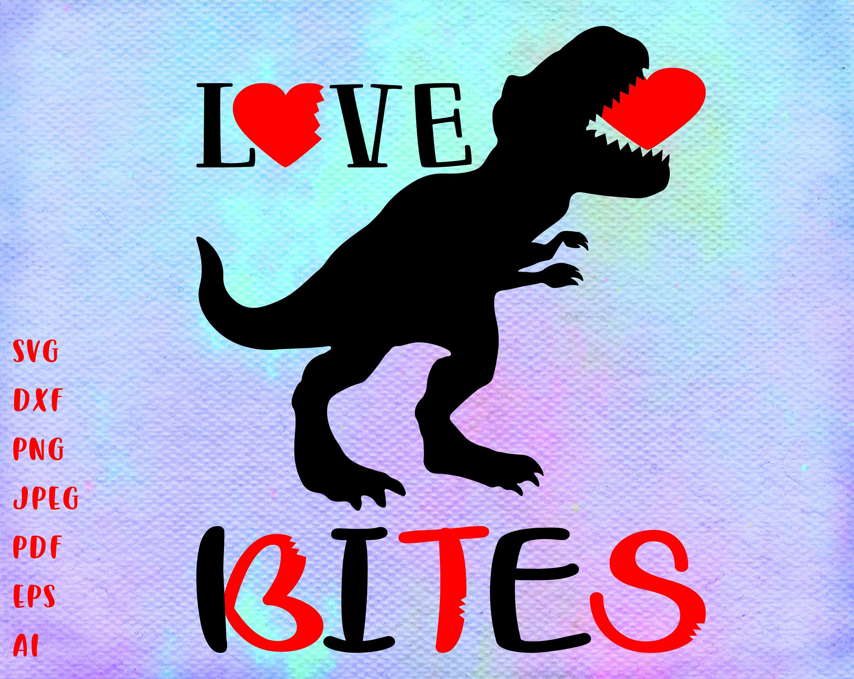 Download Love bites svg Love Bites Dinosaur svg Valentine SVG ...