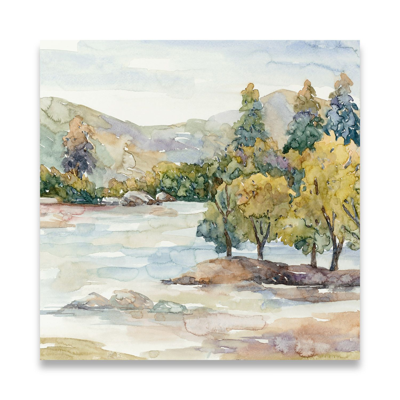 0d20182a0a1a Morning of Autumn I Fine Canvas Art