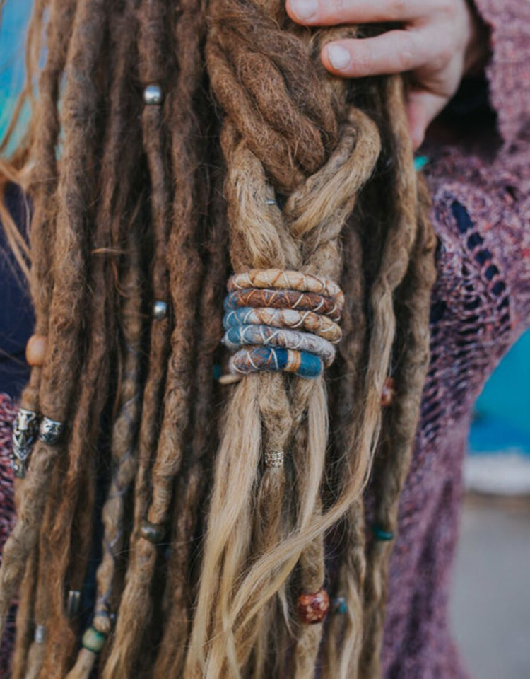 Where You Ll Find An Extensive Range Of Curated Dreadlock Beads Natural Dread Care And Accessories Small Medi Dreadlock Accessories Dread Accessories Dreads