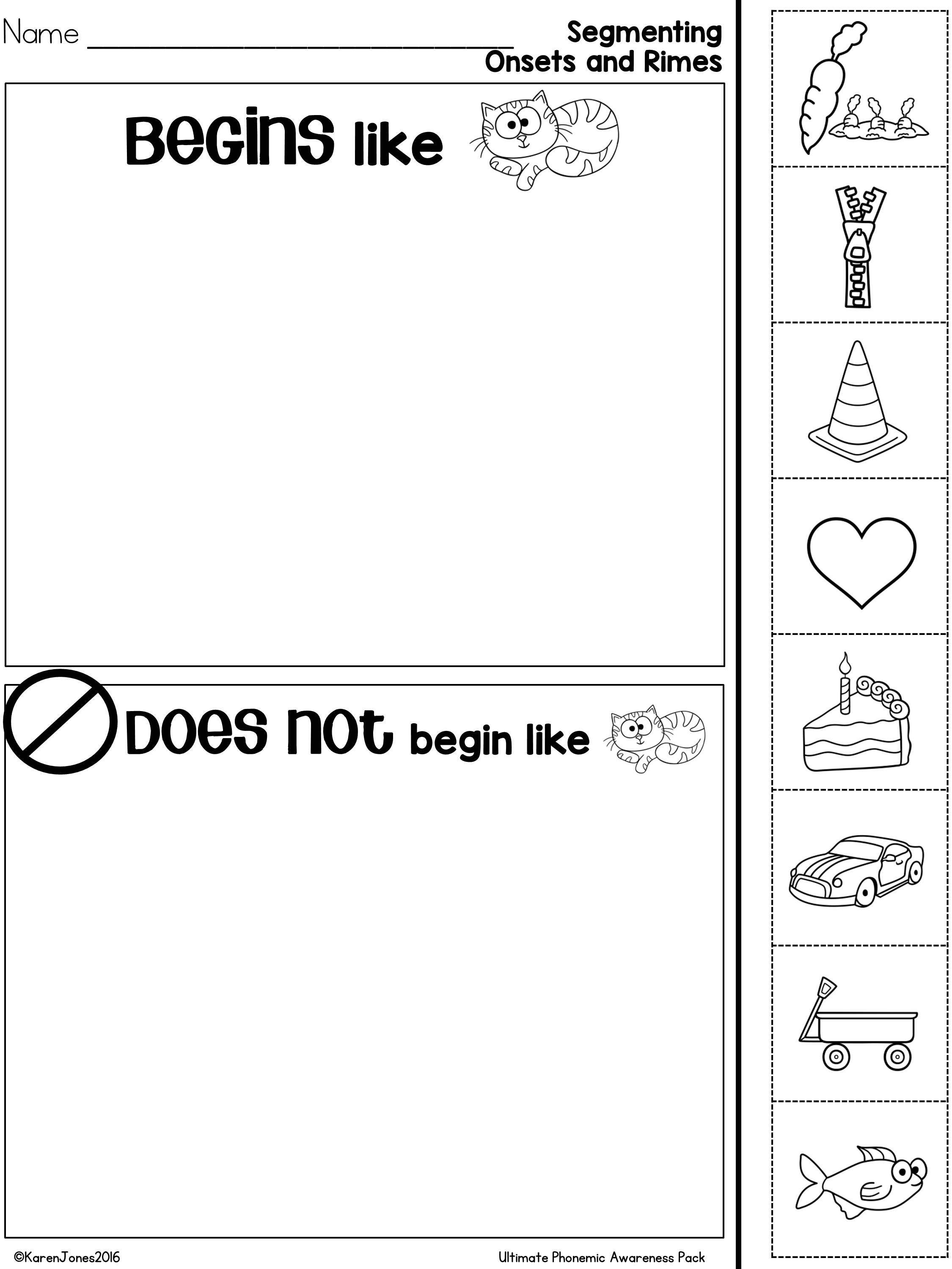 The Ultimate Phonemic Awareness Pack With Images