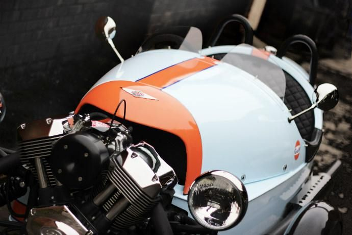Morgan 3-Wheeler Gulf Edition