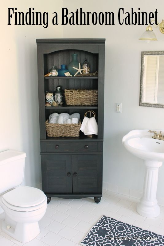 Photo of Finding a Bathroom Cabinet