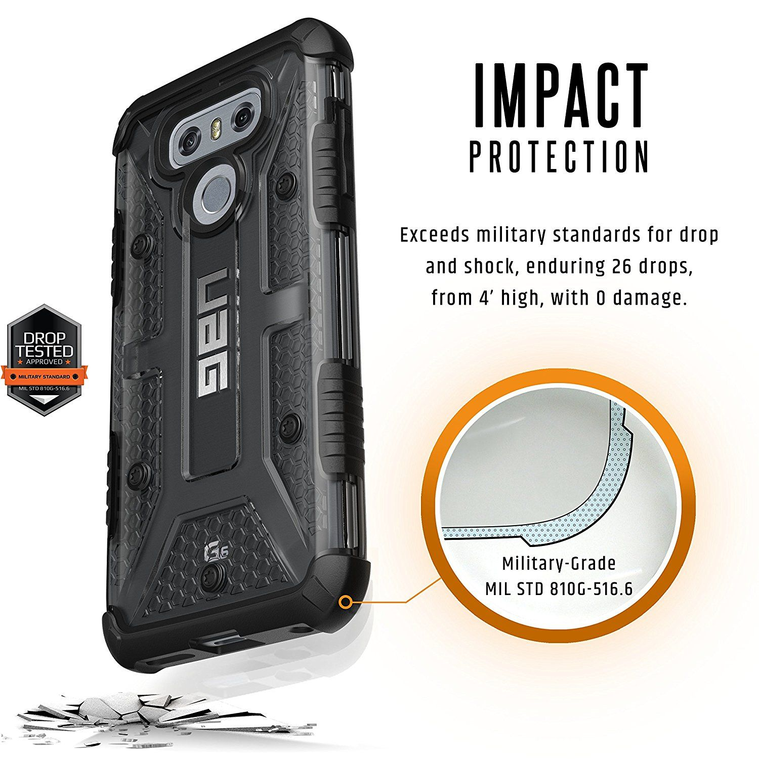 pretty nice ae0a5 99e3c Rugged LG G6 UAG Case Review | Best LG G6 Cases, Covers | Lg g6 ...