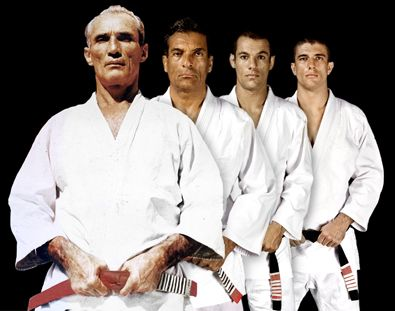The Gracie lineage Helio, Rorion, Ryron, Rener  Love Love the gracie