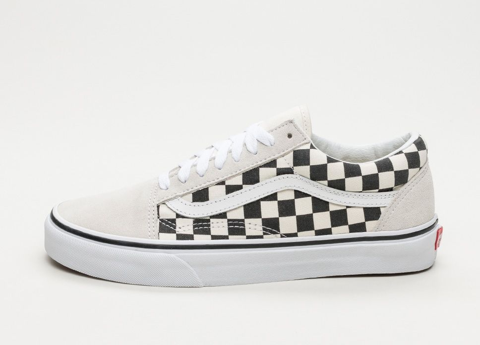 Vans Old Skool *Checkerboard* (White / Black) #lpu #sneaker ...