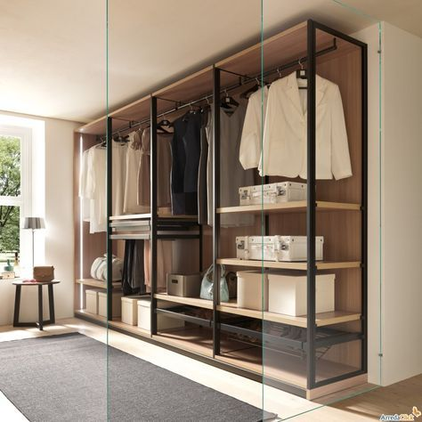 cabina armadio telaio metallo - Google Search | interiors ...