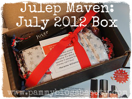 Happy 4th of July!!! Here is my Julep Maven box opening and NOTD!