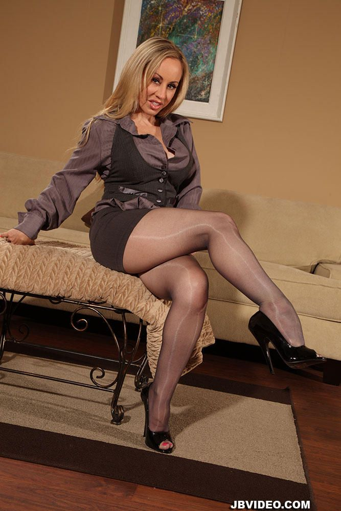 mature nylon ladies
