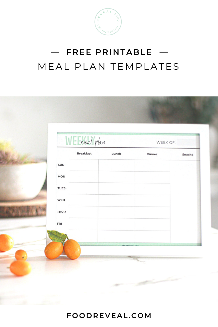 How These Simple Meal Plan Templates Help Us Save Time