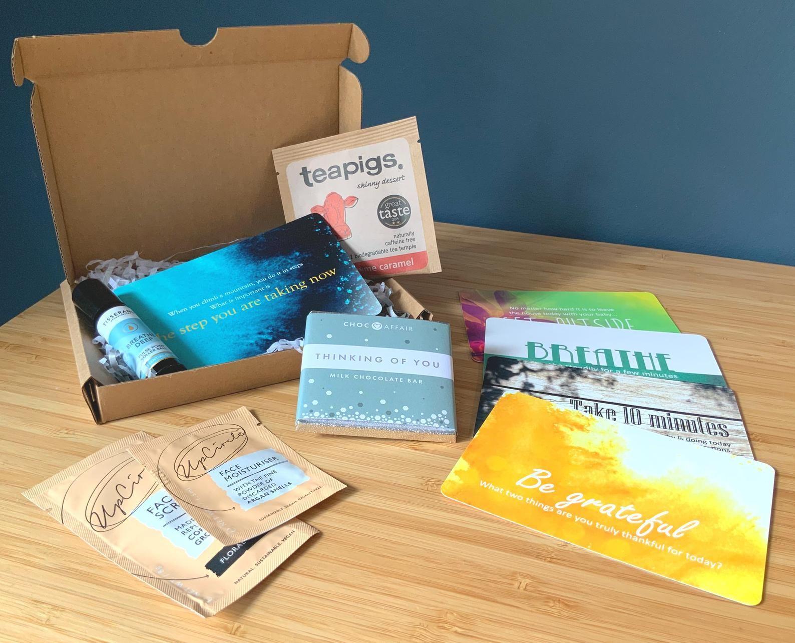 Lockdown gift mini gift care package box mindfulness