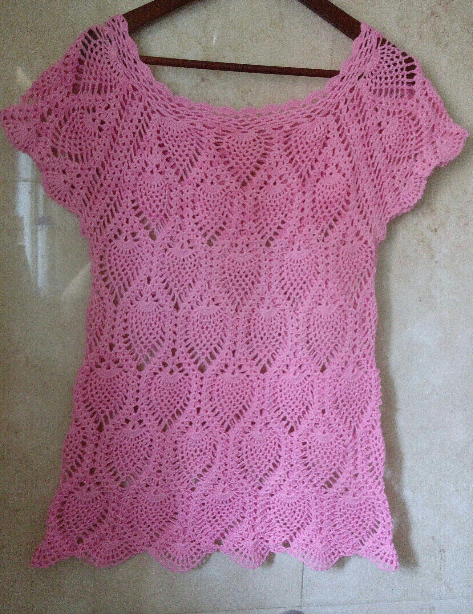8dc997a833 blusa piñas con Canesu rectangular parte 1