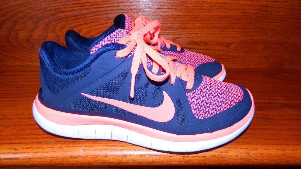 Nike Free Run 4.0 V4 Running Training Women Size 6 Pink Obsidian  fashion   clothing  shoes  accessories  womensshoes  athleticshoes (ebay link)   ... b4610b3f7