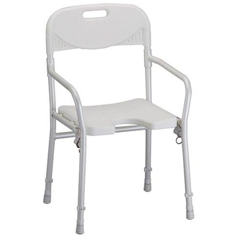 Nova Folding Shower Chair Bath Safety Portable Shower Chair Folding Shower Chair Shower Chair
