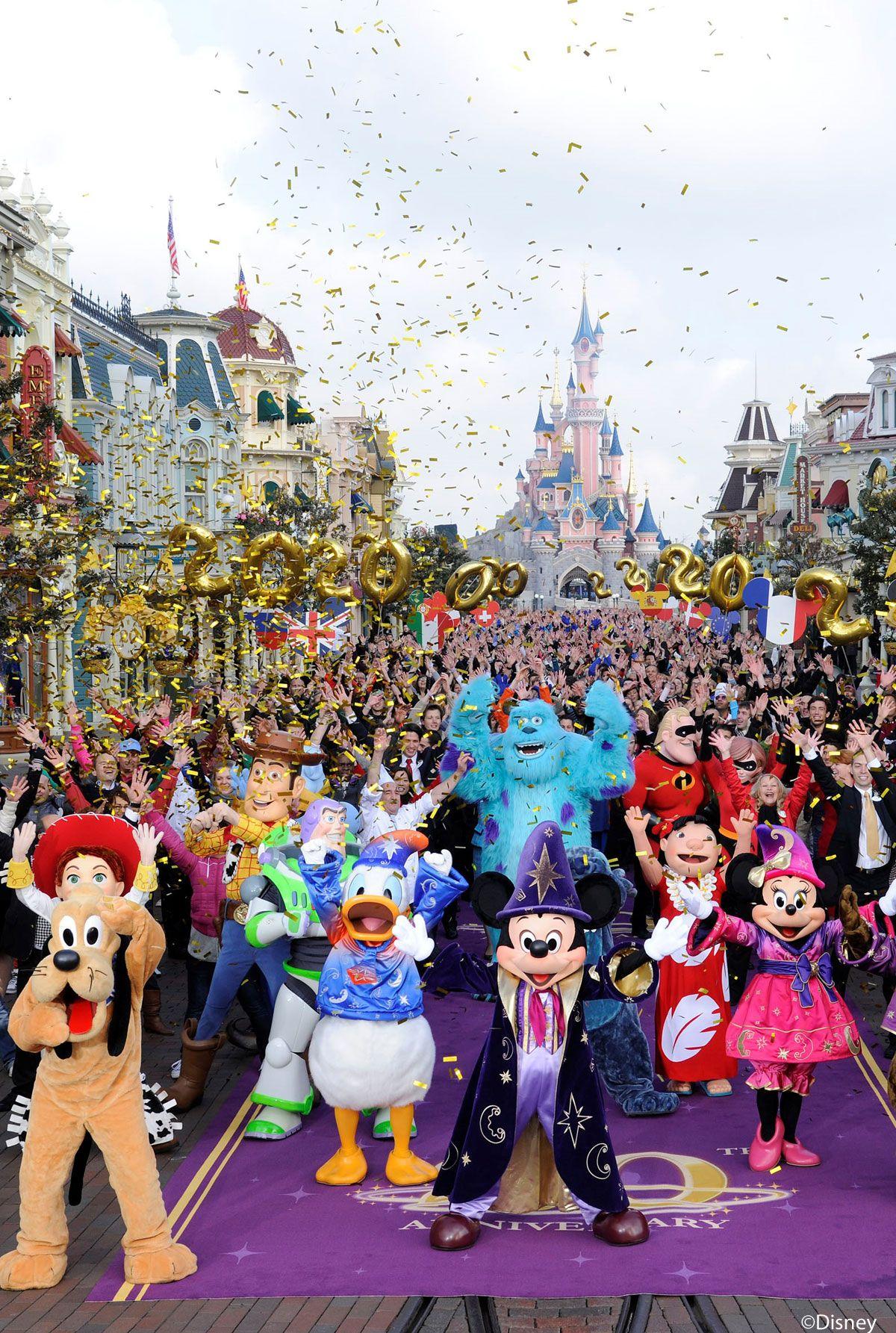 20 Geburtstag Disneyland Paris Disneyland Paris Disneyland