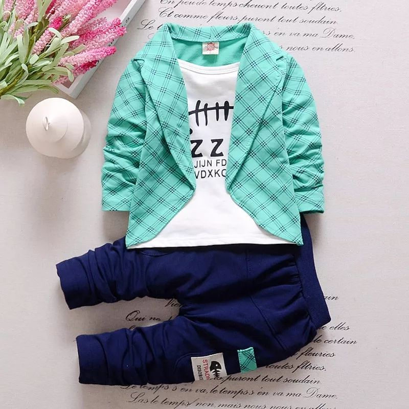 Boys Suit 3 Pc With Blue Blazer Size 1 2 2 3 3 4 Yr Buy 1750 Shipping 9892436313 Whatsapp For Details Toddler Suits Kids Outfits Kids Clothes Boys