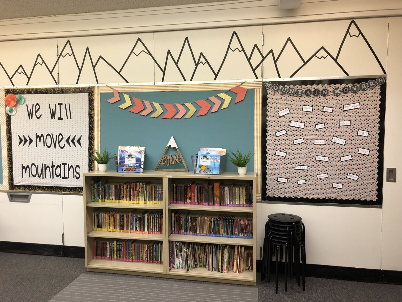 Setting Up My Classroom(s) | Moving Mountains in 5th #classroomdecor