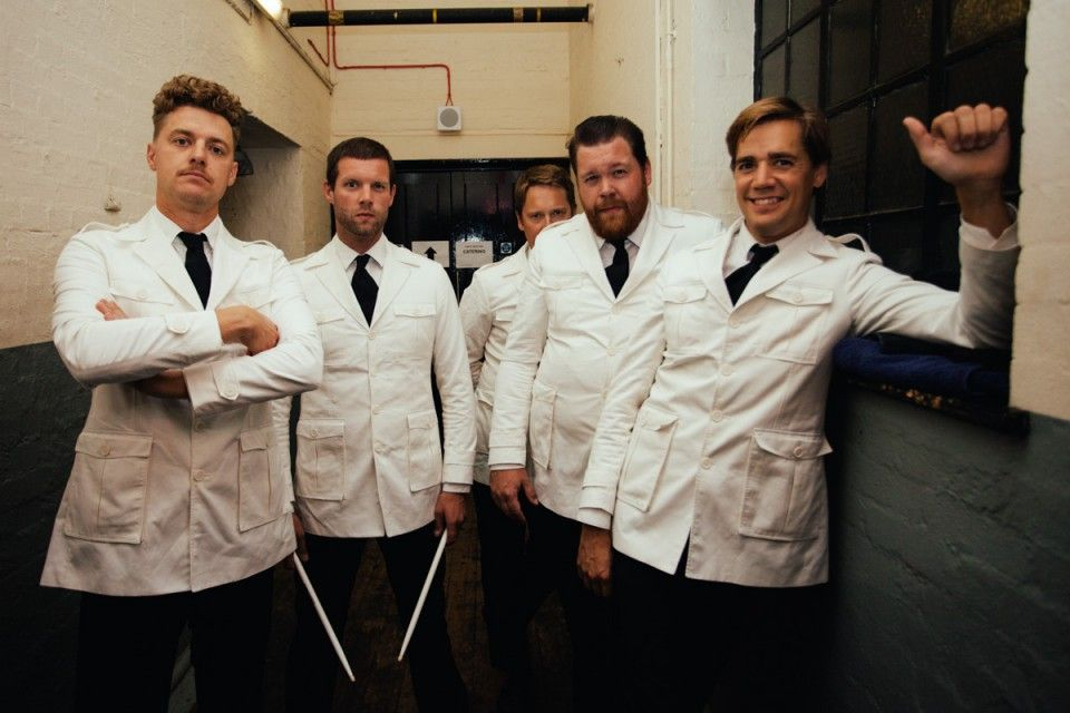 Photos of The Hives Backstage 21 August 2014