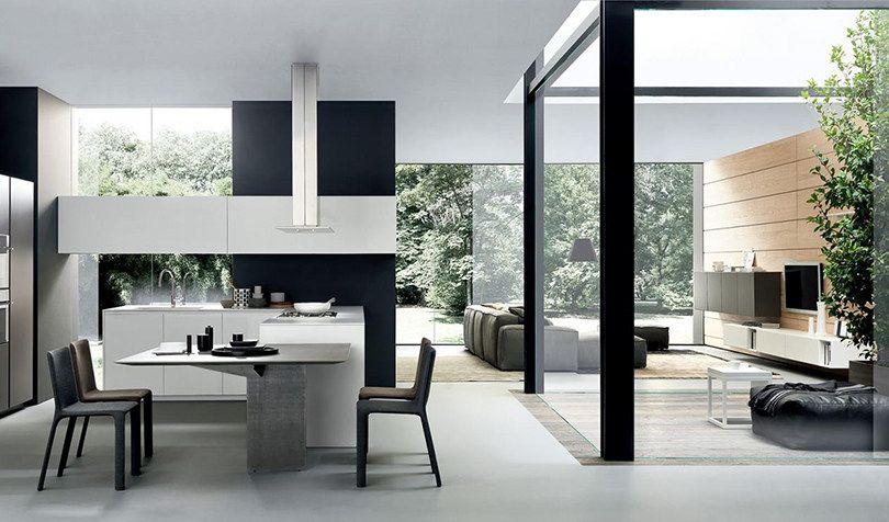 Top 5 modern kitchens: the best Italian brands