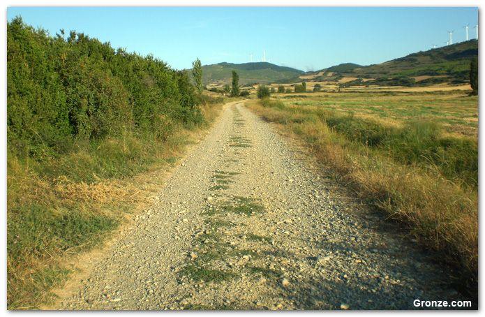 De camino a Izco