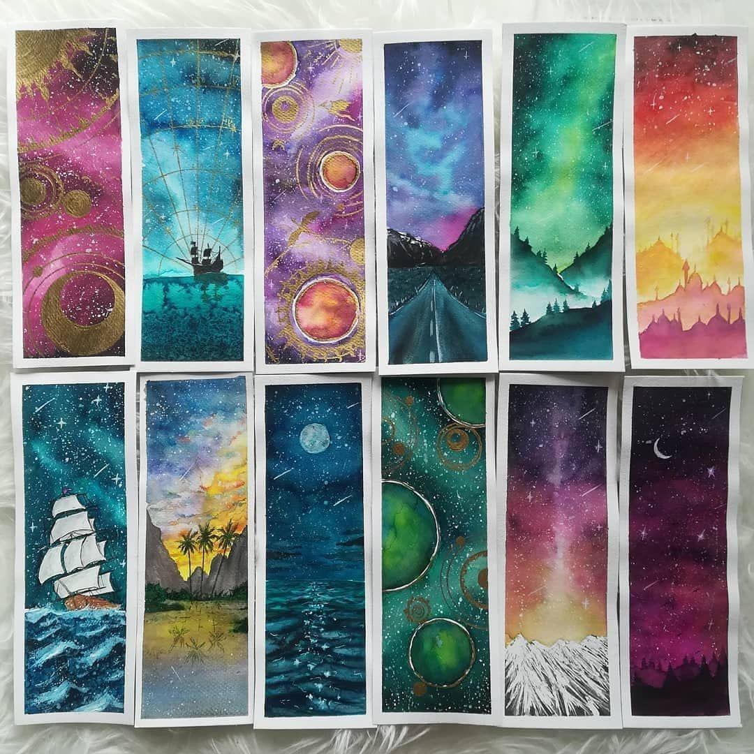 Beautiful bookmarks artist northernmoods