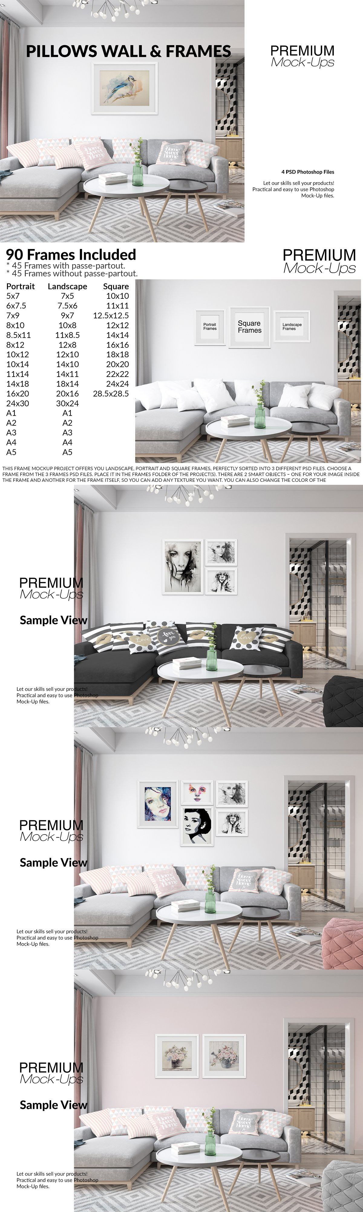Pillows Frames In Living Room Web Design Resources Living Room Sets Room