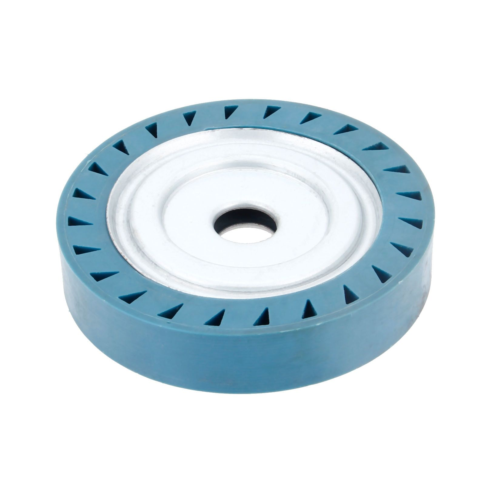 Dreld 1503025mm solid rubber contact wheel for belt