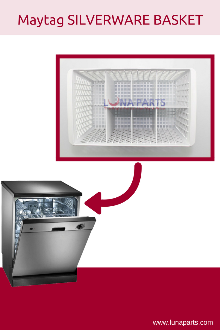 Need A Silverware Basket Replacement We Have The Right Part For Your Dishwasher Basket Silverware Maytag Appliances Appliance Shop Maytag Dacor