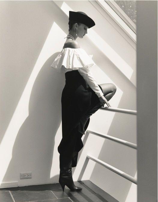 Horst P Horst - Yasmin Le Bon, 1983