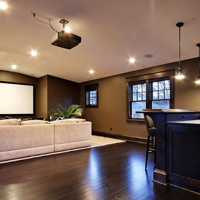 Marvelous Make A Cold Basement Look Attractive Ideas
