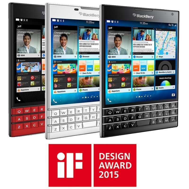 BlackBerry PassportBlackBerry Passport IF Awar