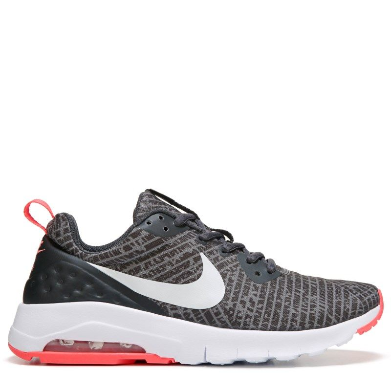 brand new 67c01 6216b Nike Kids  Air Max Motion Running Shoe Grade School Shoes (Black Silver)