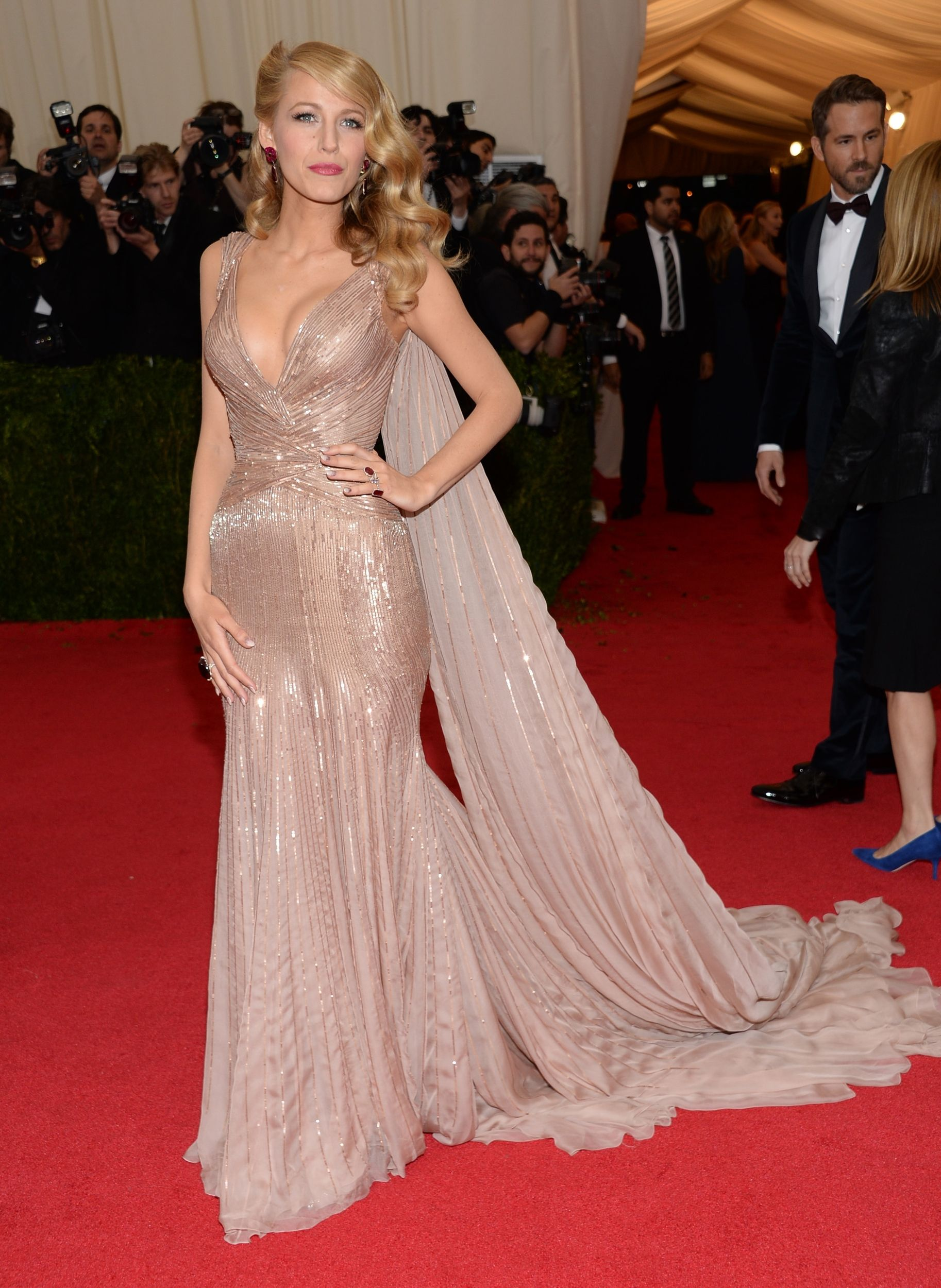 Blake Lively in Gucci Première - Met Gala 2014 | Fashion Favorites ...
