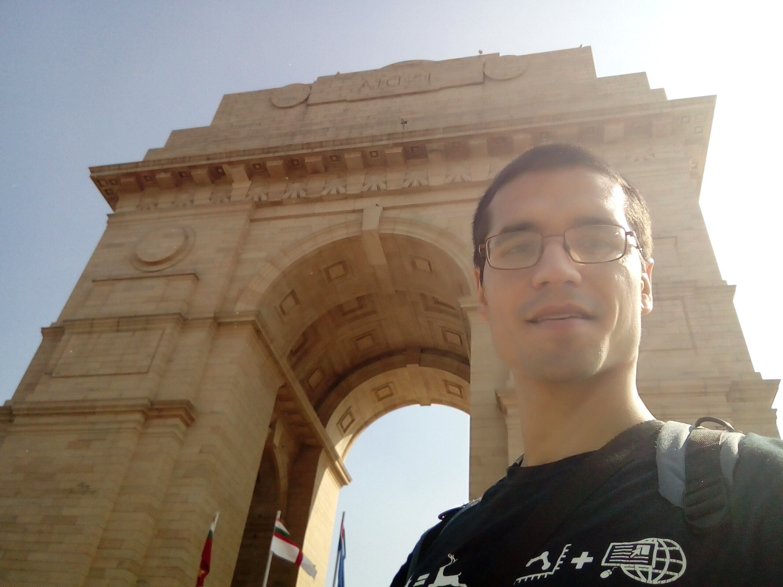 The India Gate, New Delhi