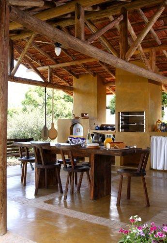 Cozinhas r sticas t m jeito de interior e cheiro de casa - Modelos casas rusticas ...