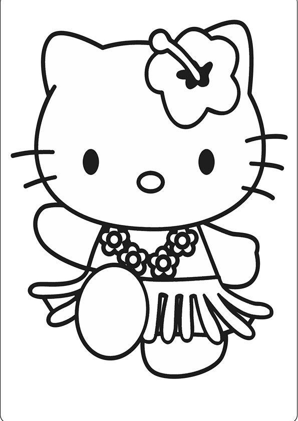 Ausmalbild Hello KittyAusmalbilder Hello Kitty  ausmalbilder