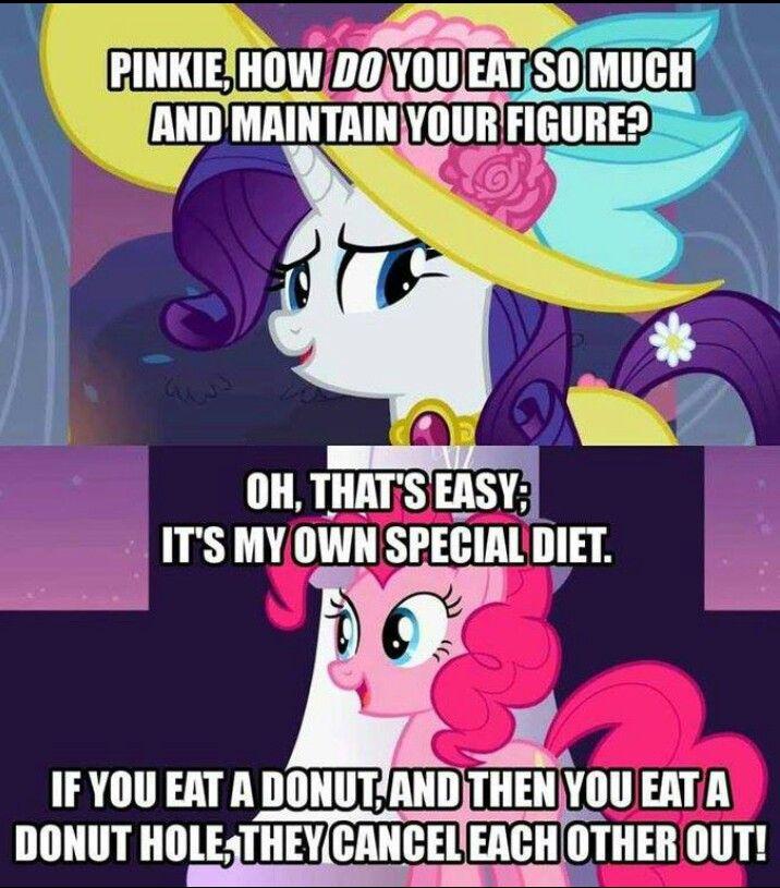 My Little Pony Birthday Quotes: Pinkie Pie Rarity Logic