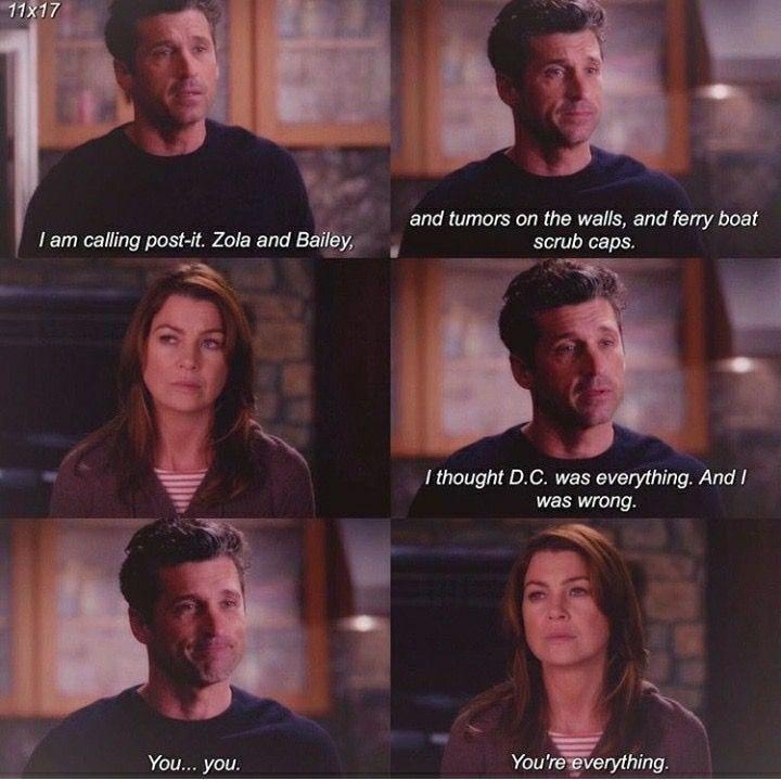 Ahahahahahahahah Love Grey Anatomy Quotes Greys Anatomy