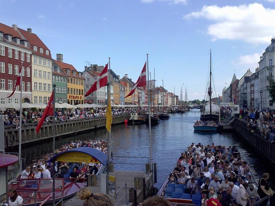 Nyhavn in Copenhagen, Denmark. Our world is a beautiful