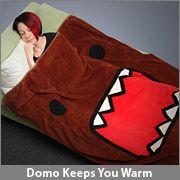 ThinkGeek :: Domo Blanket