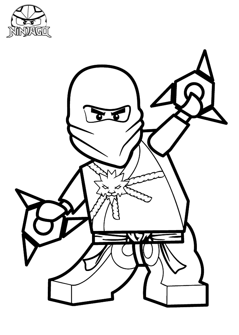 Ninjago Printables Lego Ninjago Coloring Pages Printable