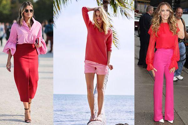24+ Combinaciones de color rojo en ropa trends