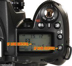 nikon d90 top af controls fot grafos pinterest nikon and rh pinterest com Nikon D90 Manual Focus Nikon D90 Manual Focus