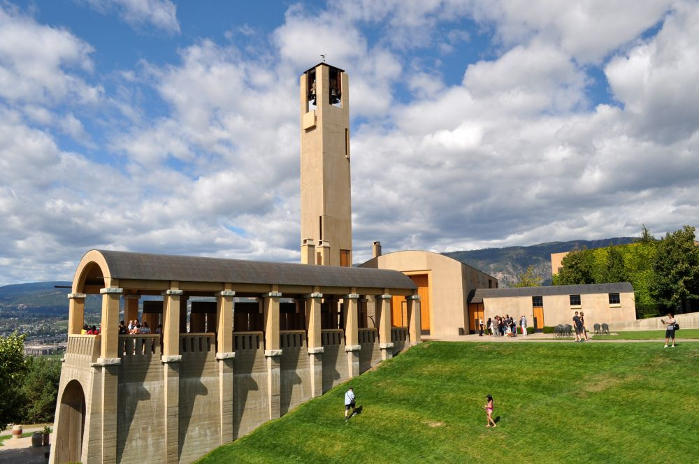 Mission Hill winery, Okanagan Valley Canada, Luxury #accommodation overlooking the vineyards: www.lakeviewmemories.com