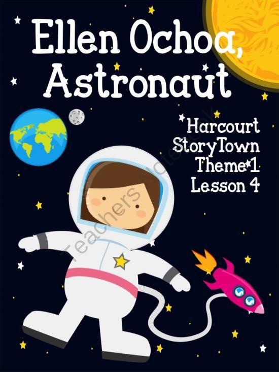 Ellen Ochoa Astronaut Harcourt StoryTowne Lesson 4