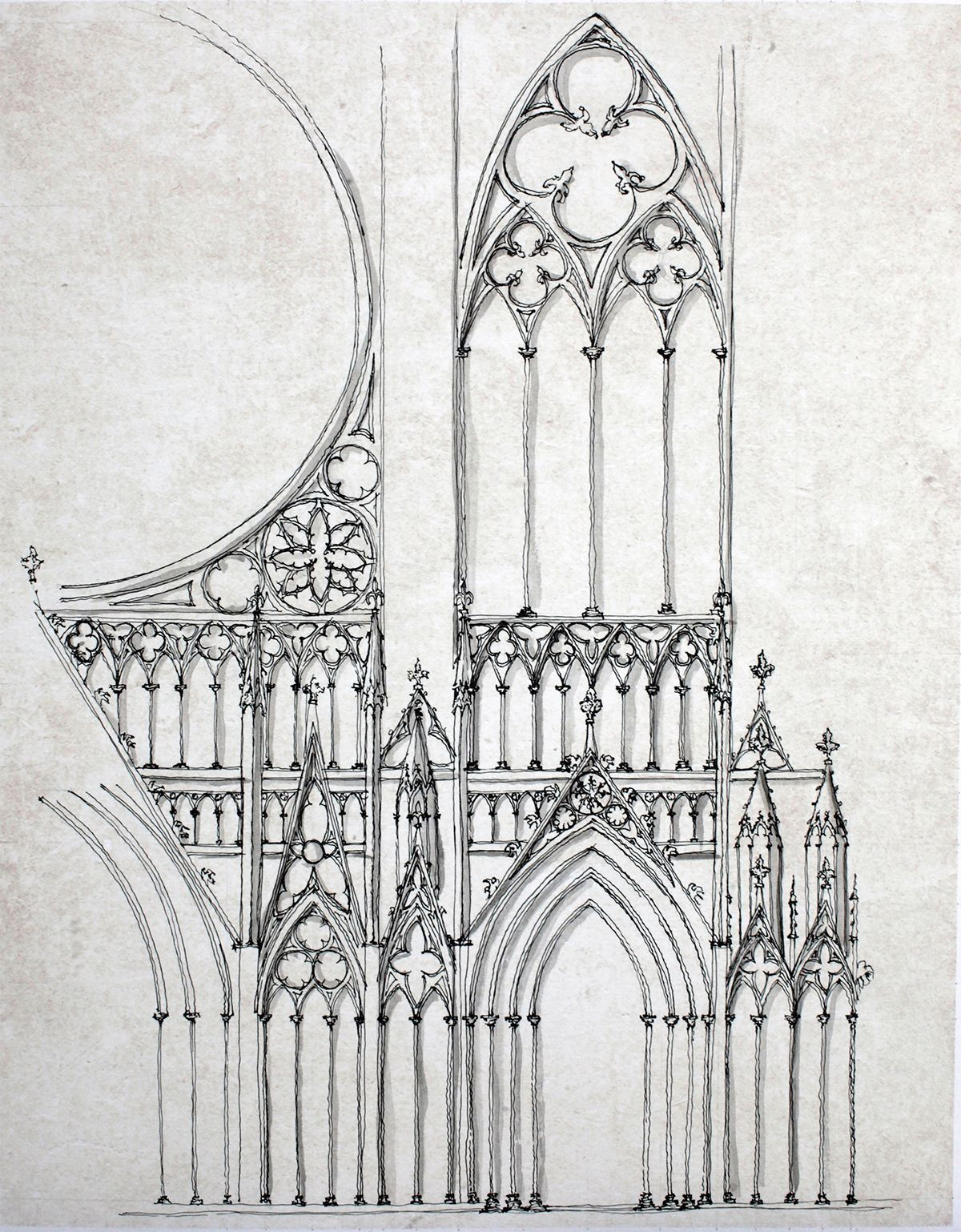 16 Italian Architecture Drawings On Behance In 2020 Gothic Architecture Drawing Architecture Drawing Art Architecture Drawing Sketchbooks